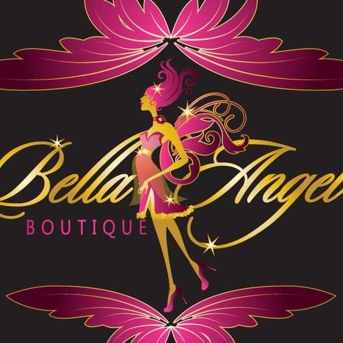 logo for Bella Angel boutique
