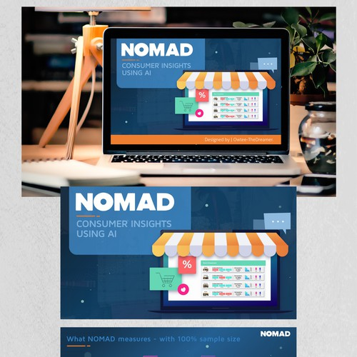 "PowerPoint Design for the ""NOMAD"" Project."