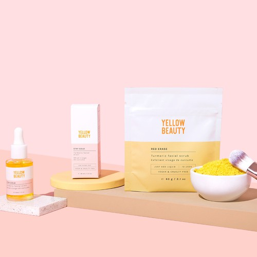 Yellow Beauty packaging