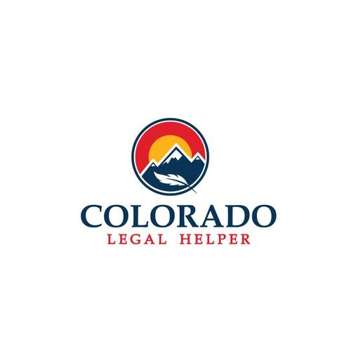 Law concept logo