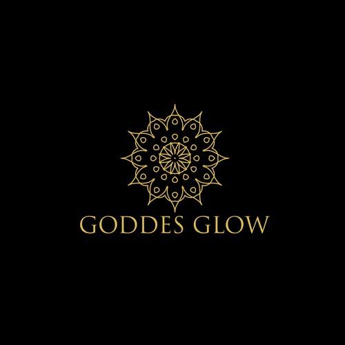 goddess glow logo design