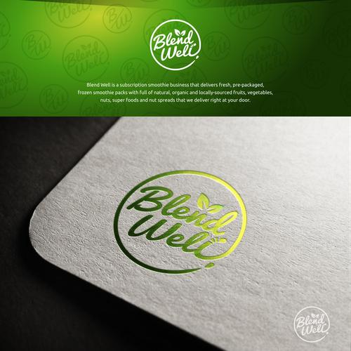 Blend Well Logo