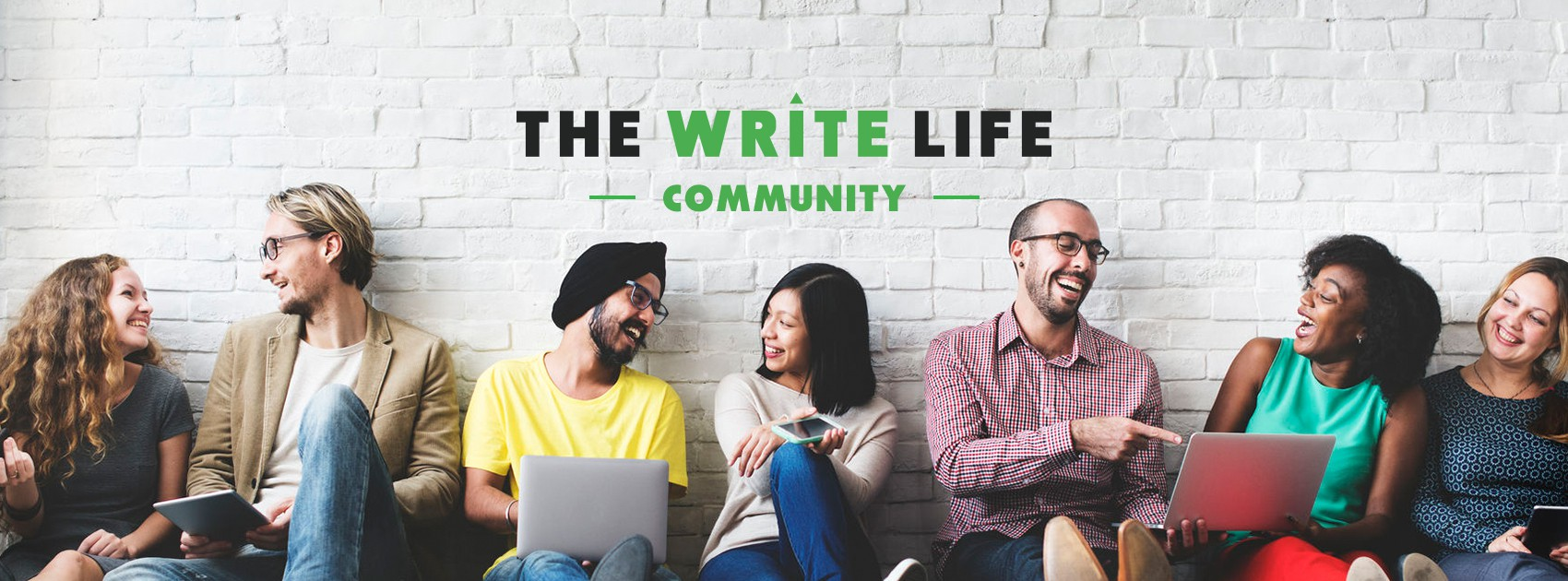 Social media assets for The Write Life