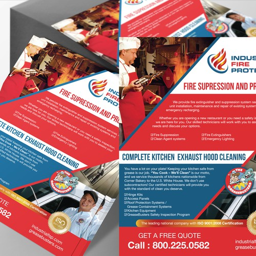 Fire Protection flyer/postcard