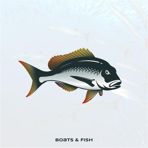 boats and fish