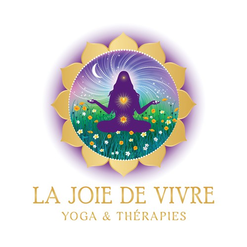 logo designed for a yoga therapist