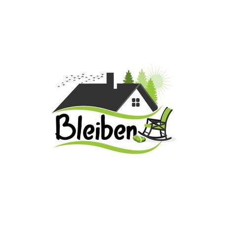 Logo design for a real estate company.