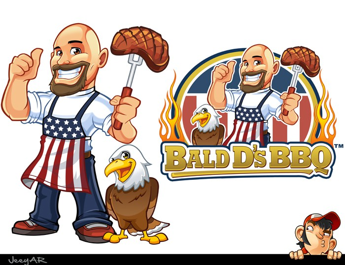 Help Bald D's BBQ with a new logo
