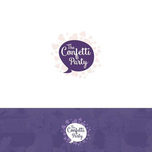 E CONFETTI PARTY needs a chic girly logo!