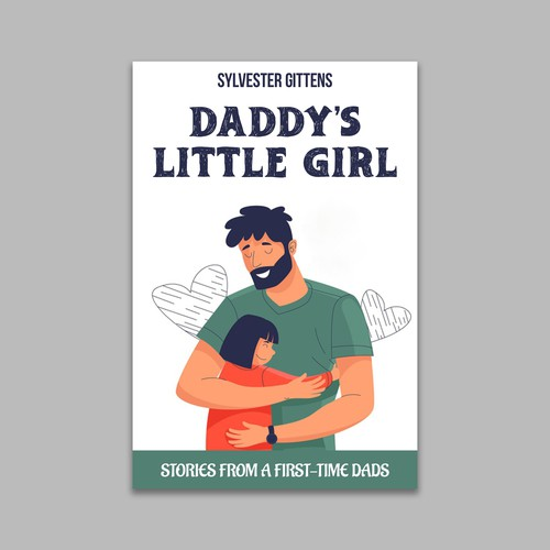 Design Showcasing first time father's love for his baby girl