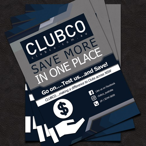 Club Co Flyer