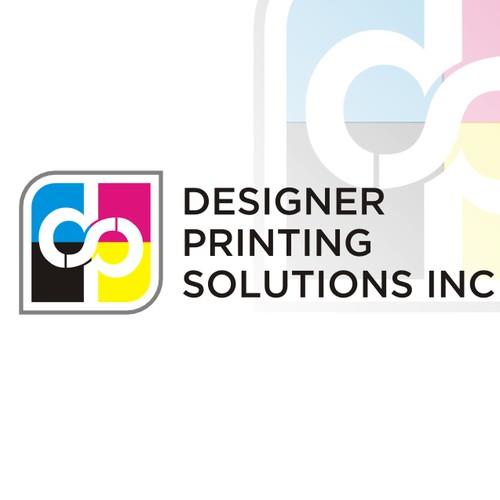 create logo for Designer Printing Solution