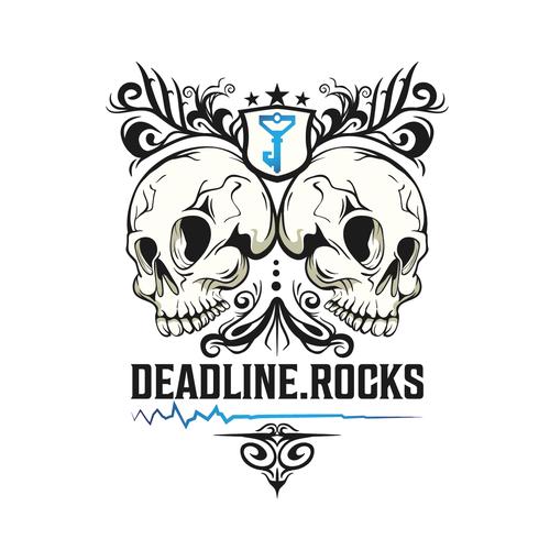 Create a hipster design for deadline.rocks