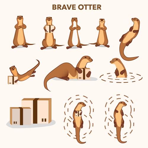 Brave Otter