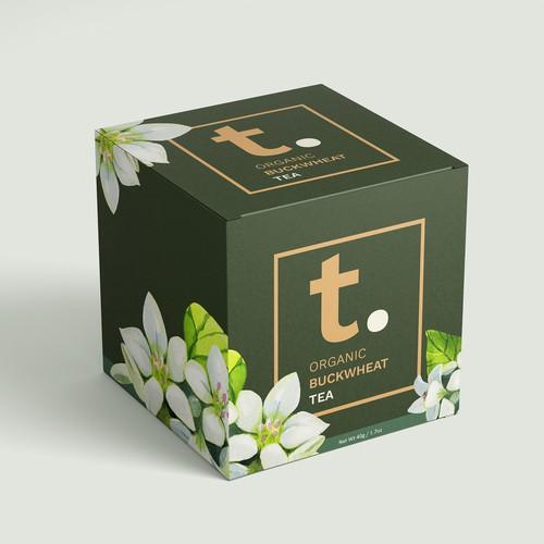 Tea packaging for a tea start-up