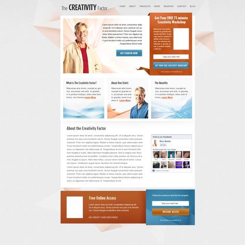 The Creativity Factor needs a new website design