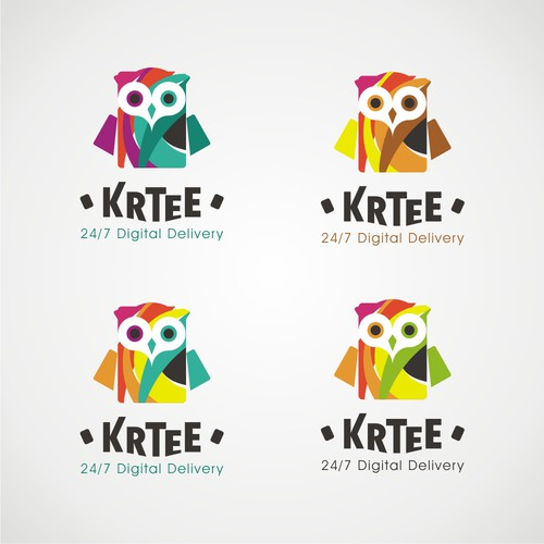 Logo for KRTEE, a Voucher card enterprise for online purchase