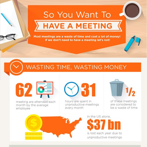 So You Want To Have a Meeting Infographic