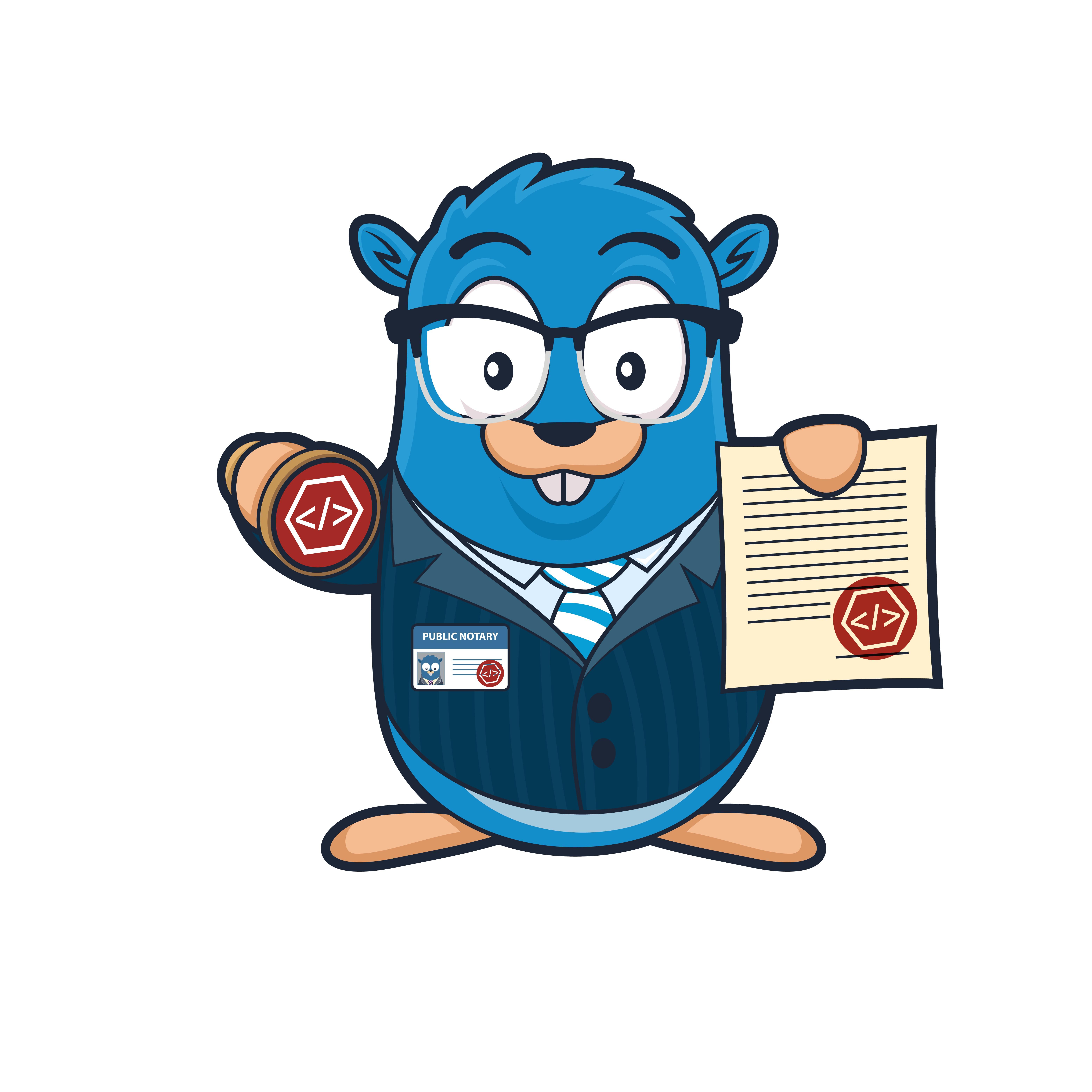CodeNotary mascot