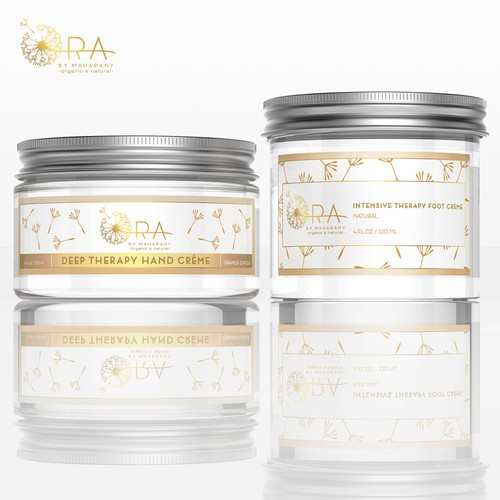 Product labels for ORA by MAHARANY