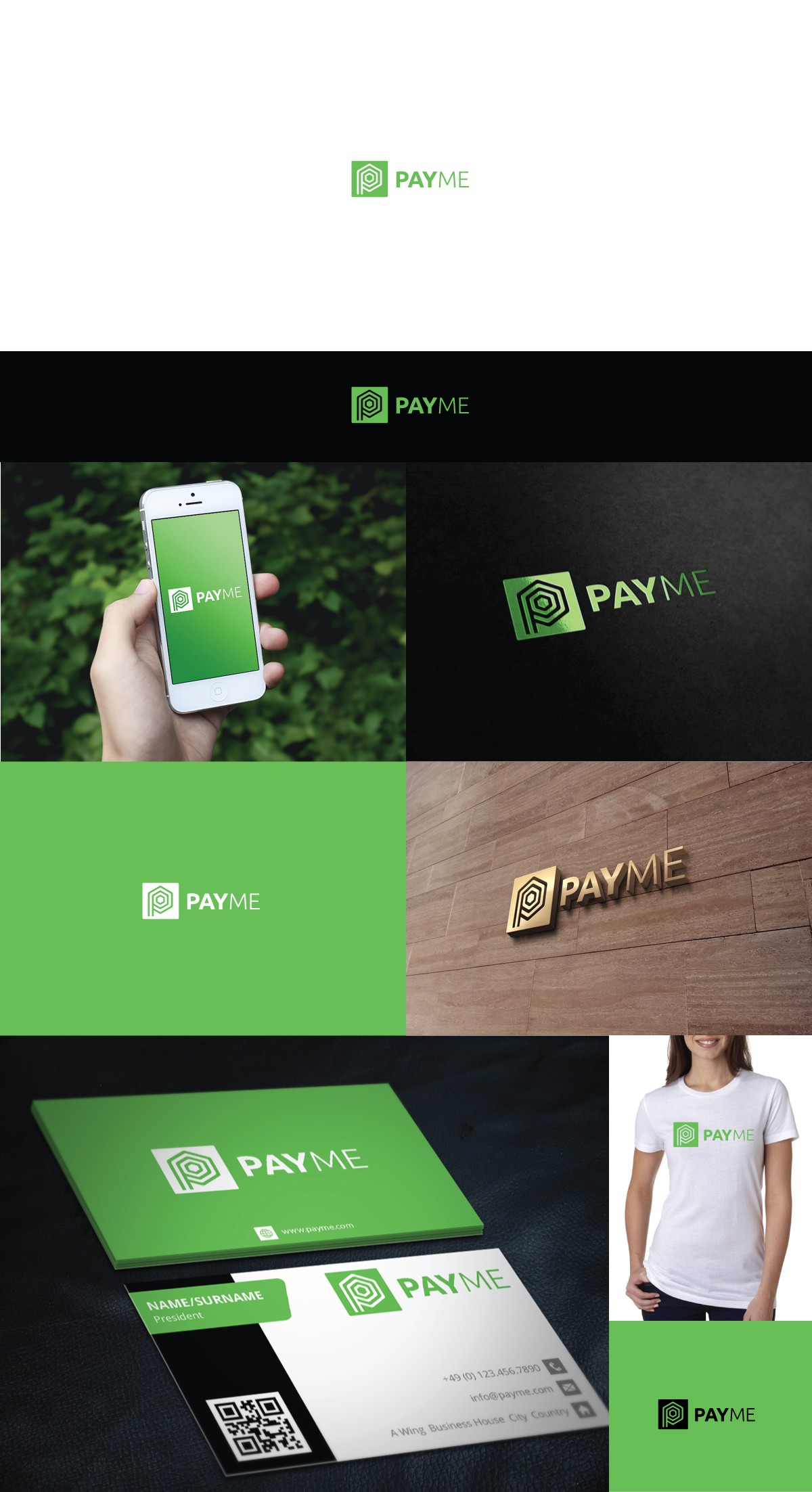 Creating a compelling logo and website for PayMe