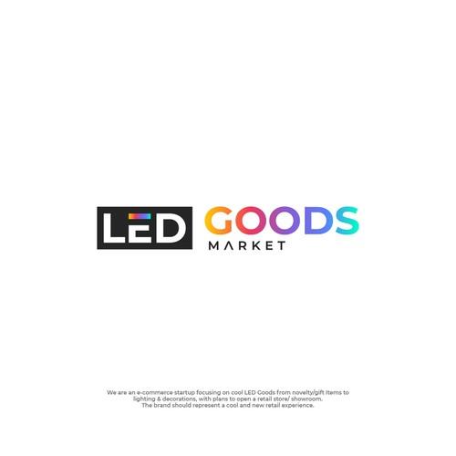 Design logo for LED Goods Market