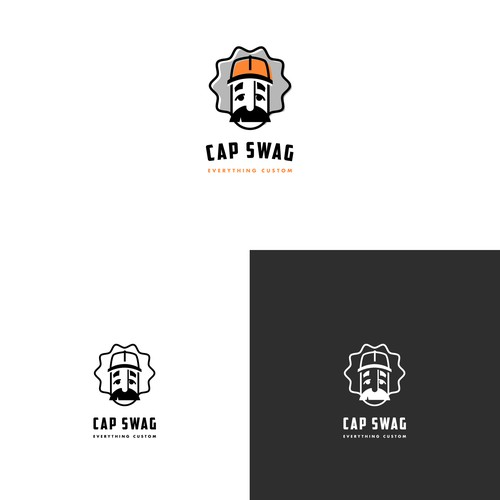 Modernized Logo for Cap Swag