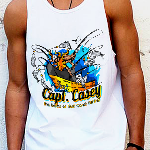Capt. Casey - The Beast of the Gulf Coast!