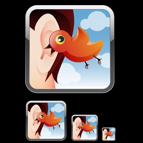 Create the next icon or button design for Commzo