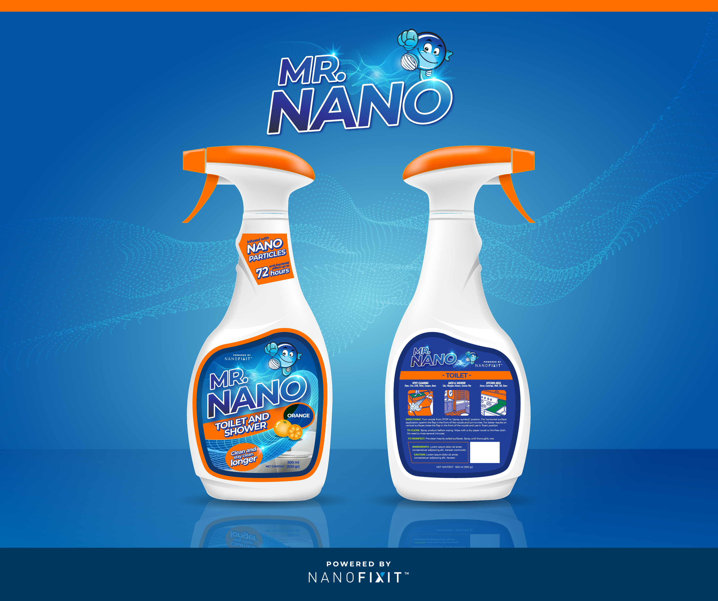 Mr. Nano surface cleaner