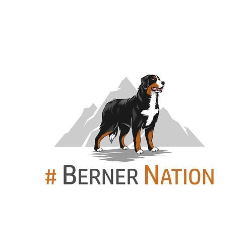 Logo concept for Berner Nation