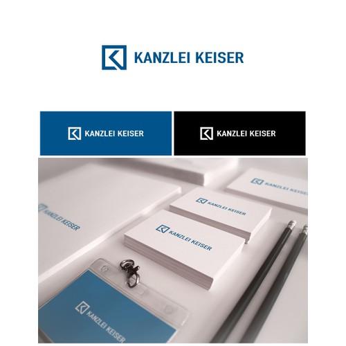 Logo Design Kanzlei Keiser