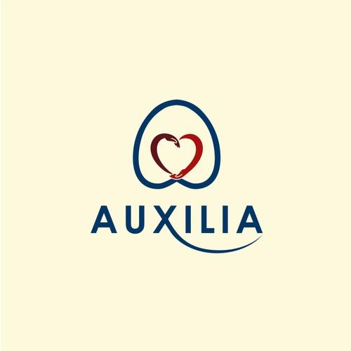 Smart concept logo for Auxilia