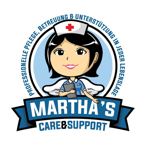 Martha's care & support logo