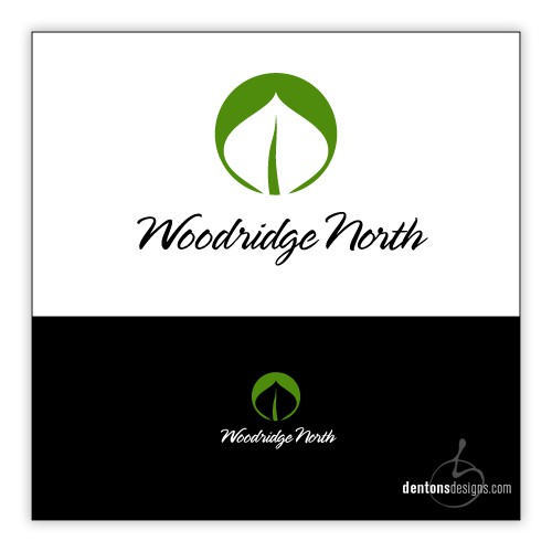 Woodridge North - office park identity