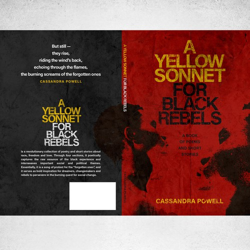 Book cover for A Yellow Sonnet For Black Rebels