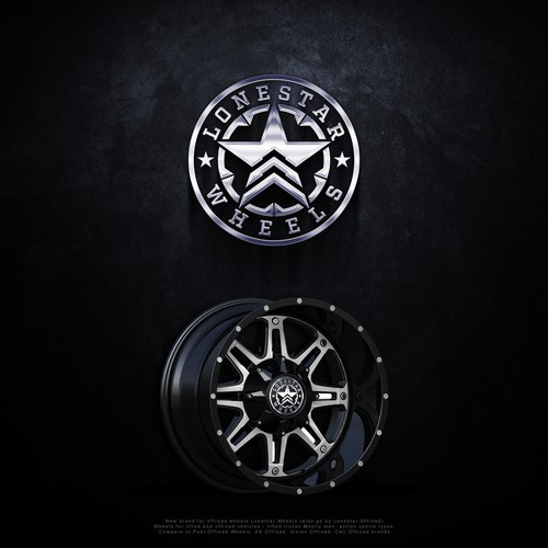 Logo design for Lonestar Wheels