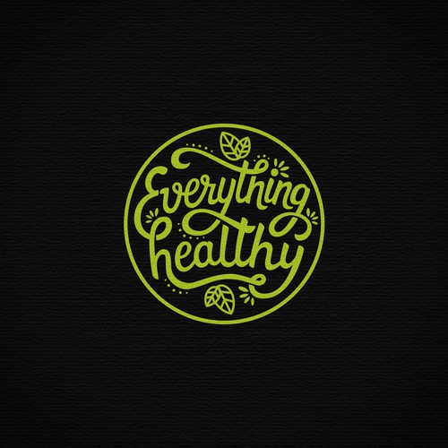 Hand lettering logo for bio healthy food brand with yoga/boho/gypsy vibe!