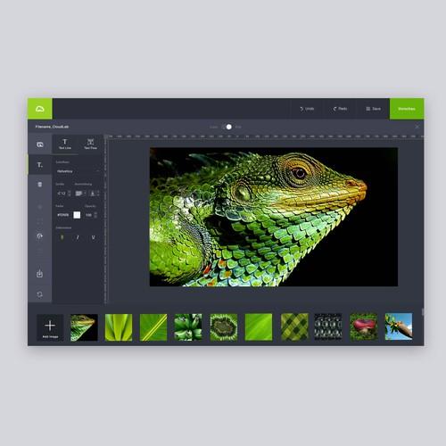 Online Graphic Design Tool