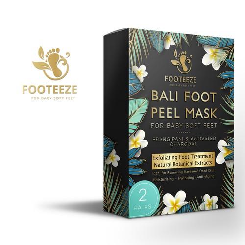 Bali foot peel mask