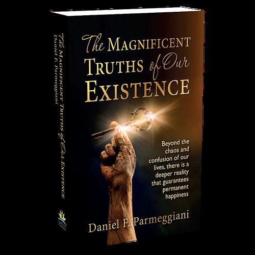 Spiritual hardcover book