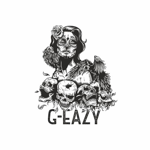 G-eazy design for t-shirts