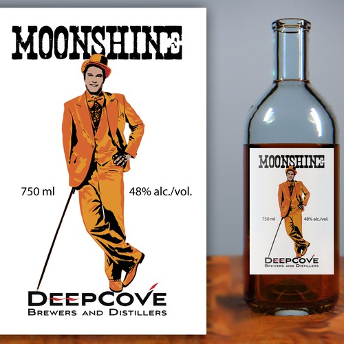 Help Deep Cove Brewers & Distillers with a new product label