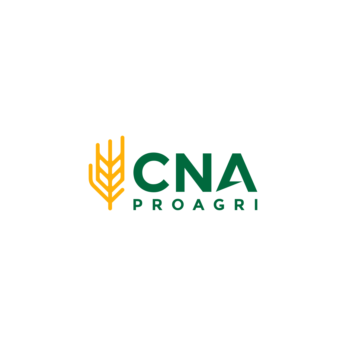 Logo for a company selling farm machinery : CNA ProAgri
