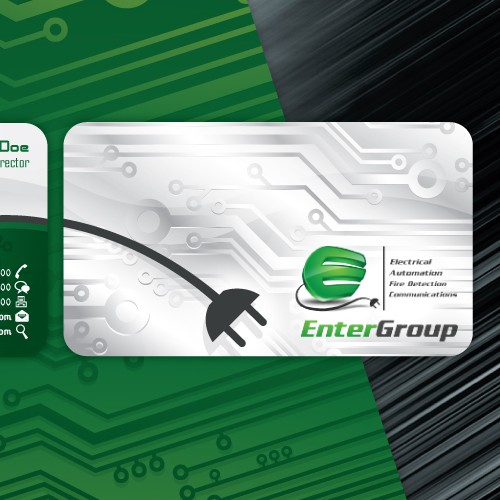 stationery for Enter Group