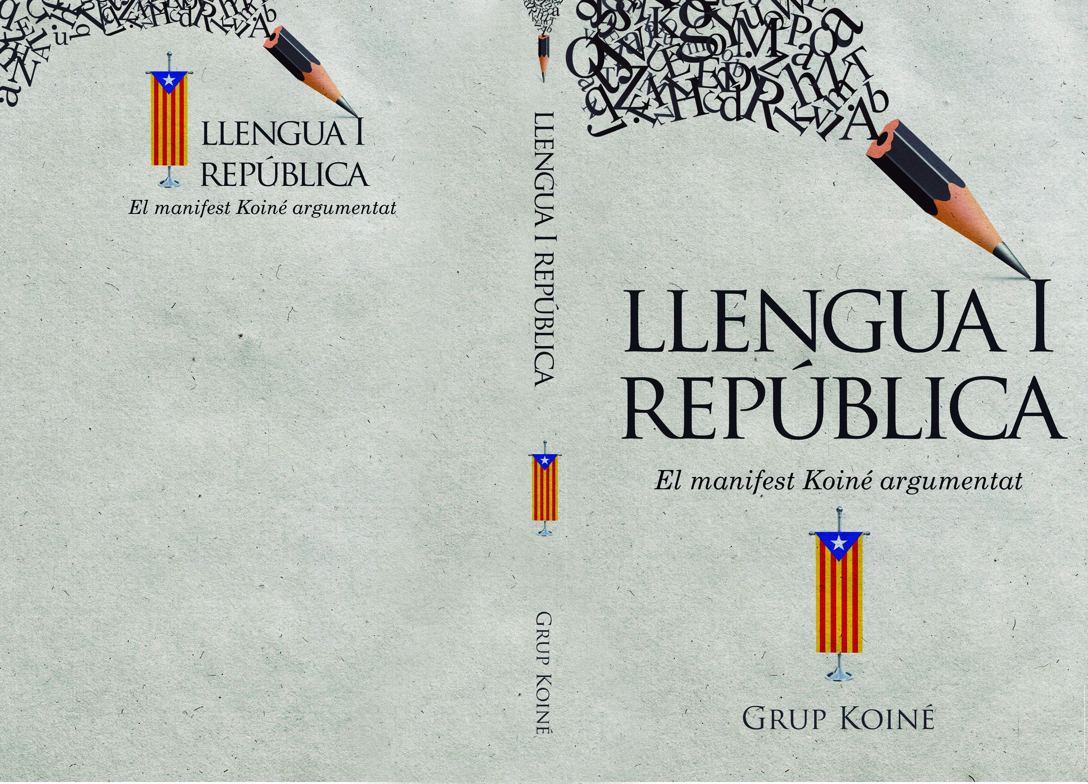 """""""Llengua i república"""" Book cover"""
