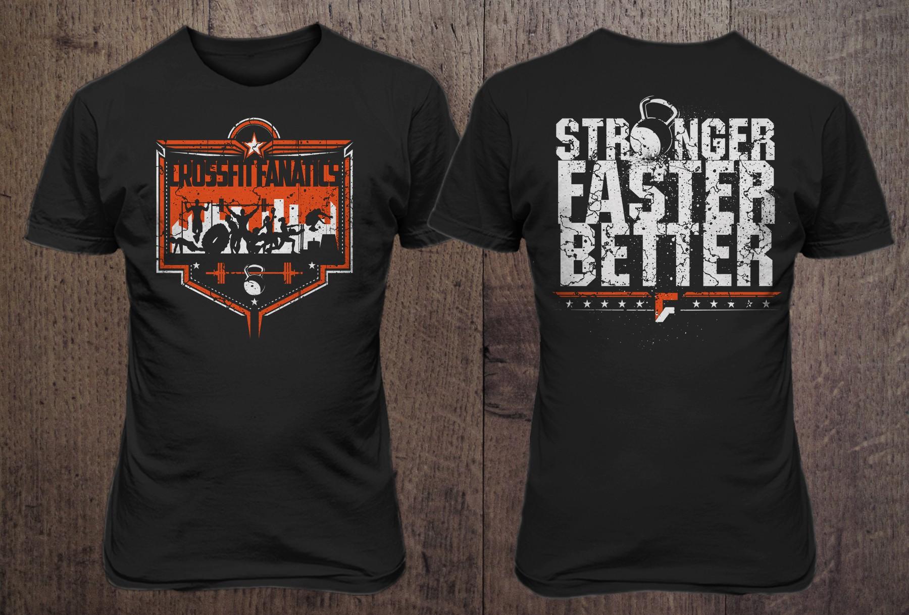 Crossfit Gym Needs Creative T Shirt Design