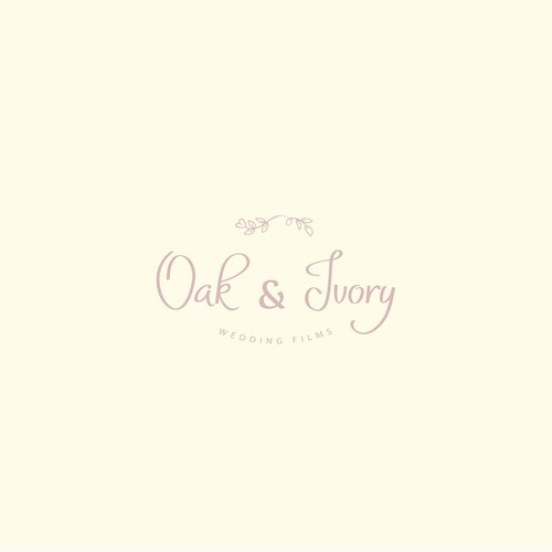 Oak and Ivory logo design
