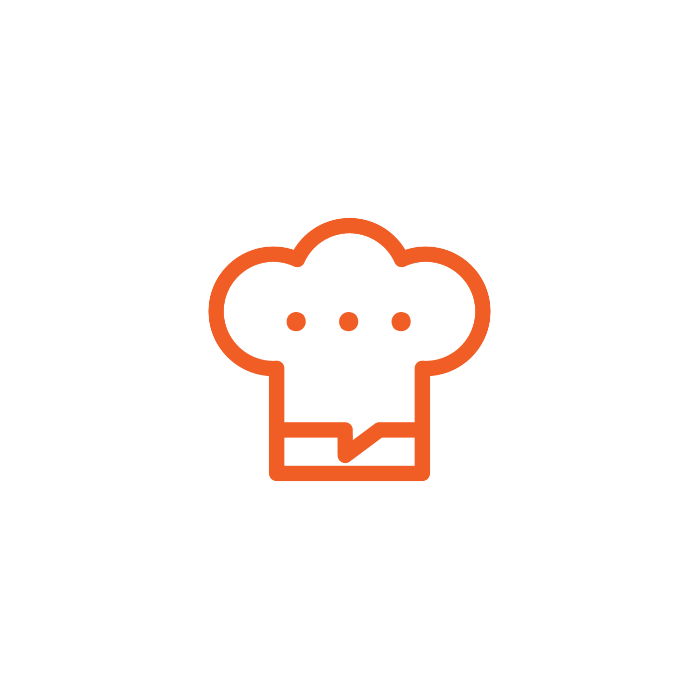 """Oui-Chefs, the """"uber for chefs"""" offering homecooks on-command needs a catchy LOGO."""