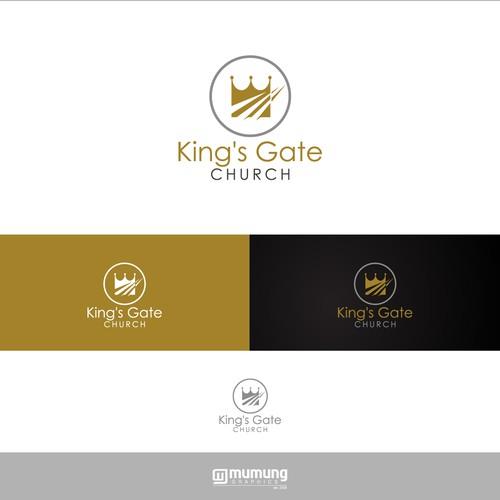 Design a a modern and simplistic logo for a growing church!